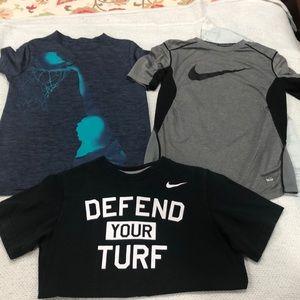 Reebok and Nike T-shirts (Set of 3)